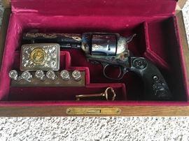 Charleston Heston Colt 45 NRA