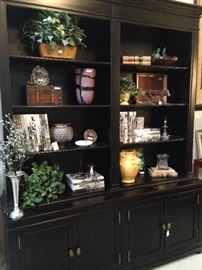 Large wall unit - great for books and decor