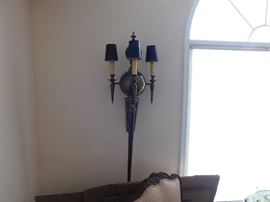 Brass Wall Light Sconces