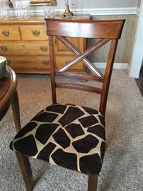 Two traditional chairs