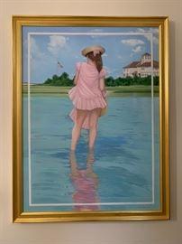 Bronstein, Oil on Canvas