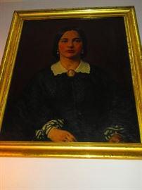 Antique portrait of a beauty