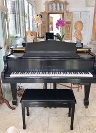 Samick Baby Grand Piano offered by Susie's Key West Estate Sales