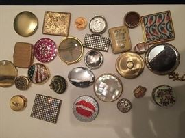 Collection of  Vintage Compacts