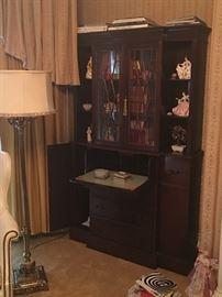 Fine Mahogany Breakfront Desk
