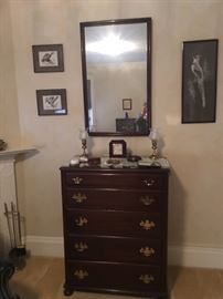 Chests and Mirrors, in various styles and sizes