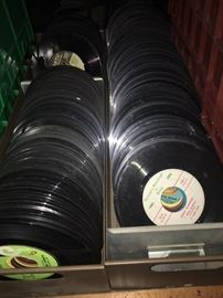 Tons of 45s