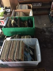 Records galore! Most genres!