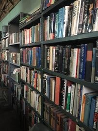 HUNDREDS of books!! Lots of local, political and history as well as fiction and non-fiction.