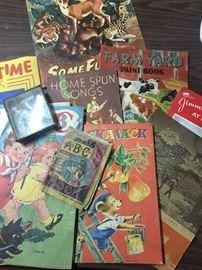 Fantastic children's books. Some on linen.