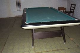 Brunswick Mach I pool table- accessories included