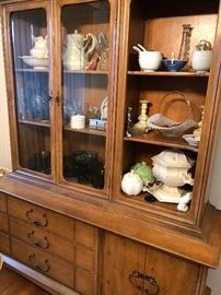 Buffet not for sale, all items inside are