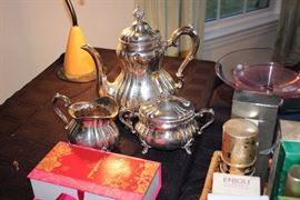 German .835 silver coffee set