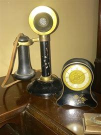 Antique Candle Stick Phone