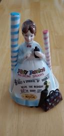 An Extremely hard to find- Mary Poppins musical spoon holder. Mint condition