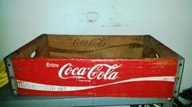 Coca Cola Crate from the 1960's?