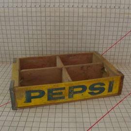 Pepsi Wood Crate