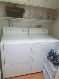 Like new washer and dryer set