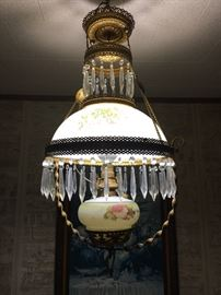 Stunning Victorian Chandelier with Crystals
