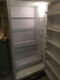 Upright Sears/Kenmore freezer, has key. $185