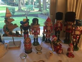 Several German nutcrackers. Anna Lee