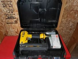 Brand new Dewalt staple gun