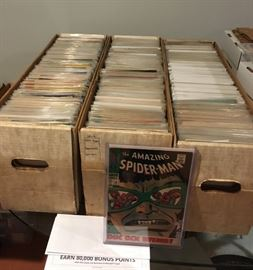 Some of the hundreds of comics starting from the 1960s