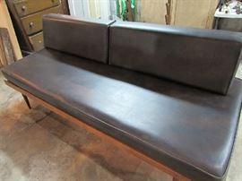 Mid Century Platform Sofa