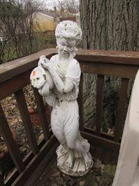 Greek Cement Figurine