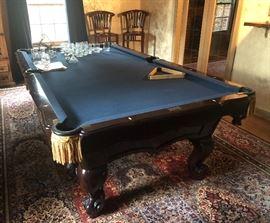 BRUNSWICK BILLIARDS TABLE