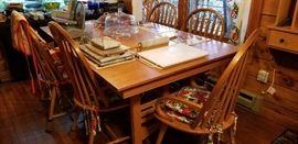 Beautiful Oak Dining Table