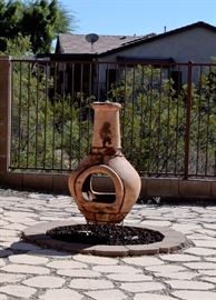 Large Chiminea for sale.