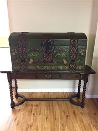 Antique 1840 trunk