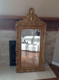 Antique mirror $600