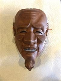 Noh-mask