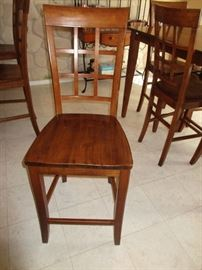 4 CHAIR CAN BE USE AS BAR STOOLS