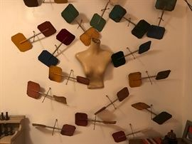 'Social Whirl' Installation Art by Romahn Karoloff  990.00