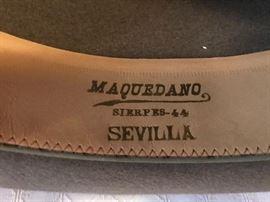Maquedano (label detail)
