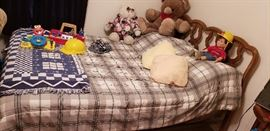 bed stuffed animals baby toys