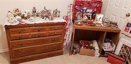 dresser desk christmass