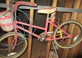 1980s girl bike