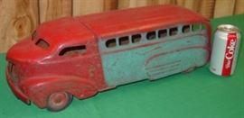 Wyandotte Toys Metal Bus
