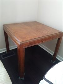 Wooden casual table