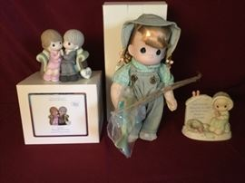 Precious Moments Doll and More           https://ctbids.com/#!/description/share/71478