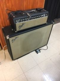 1960s Fender showman  guitar amplifier. $2300
