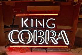 Vintage King Cobra discontinued quality Neon