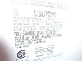 Commercial Freezer Type U20F