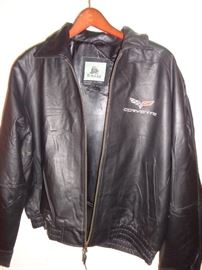 Leather Corvette Jacket
