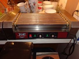 Commercial Style Hotdog Cooker