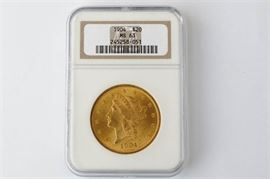 1.1904 Double Eagle Liberty Head